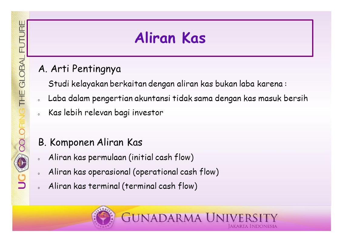 Aliran Kas A.