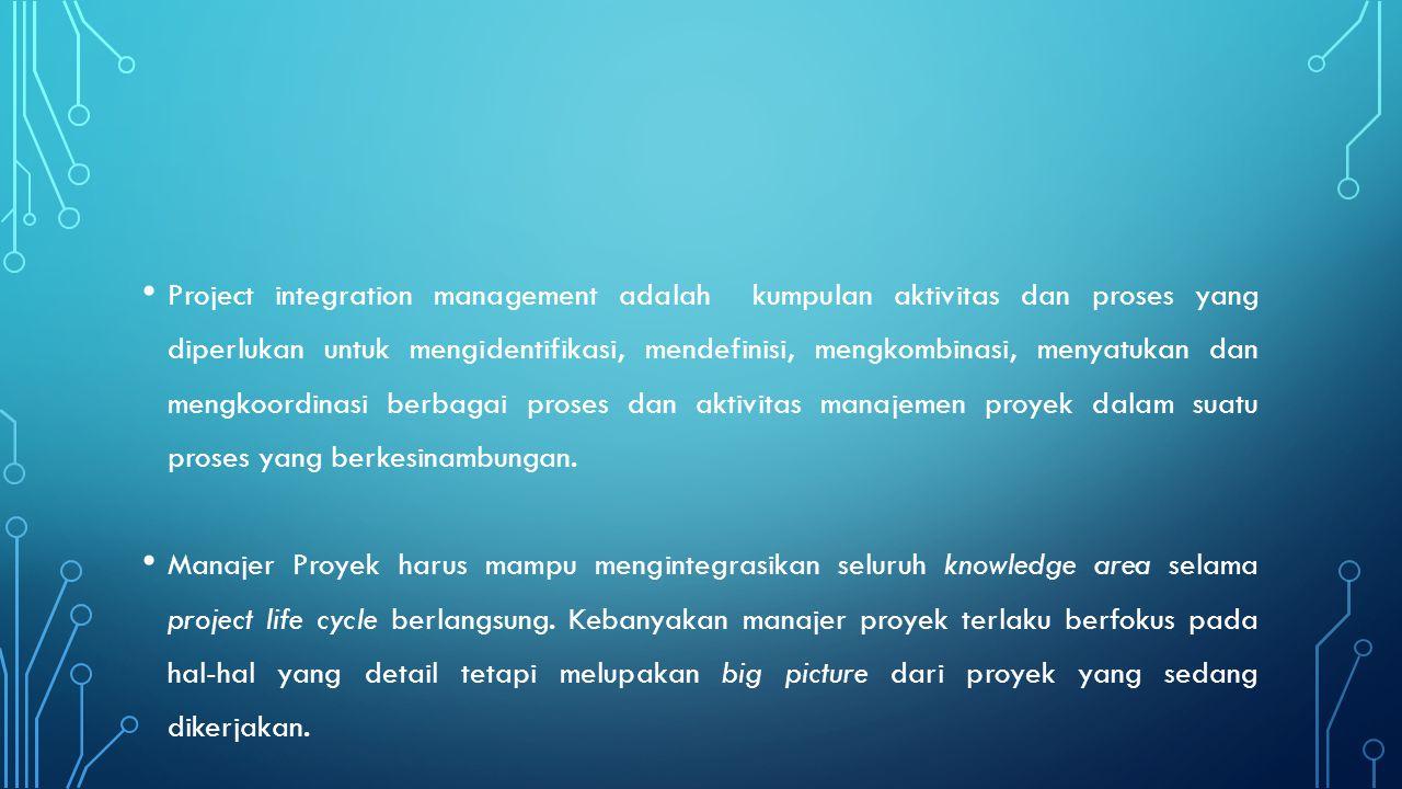 SARAN-SARAN DALAM KONTROL PERUBAHAN Pandanglah manajemen proyek sebagai sebuah proseskomunikasi dan negosiasi yang konstan Rencanakan menghadapi perubahan Bentuklah sistem kontrol dan CCB Manfaatkan manajemen konfigurasi Definisikan prosedur agar pengambilan keputusan akanperubahan yang kecil dapat dilakukan dengan segera Gunakan laporan lisan dan tulisan untuk mengidentifikasi dan mengelola perubahan Gunakan manajemen proyek dan perangkat lunak untuk memudahkan mengelola dan mengkomunikasikanperubahan.