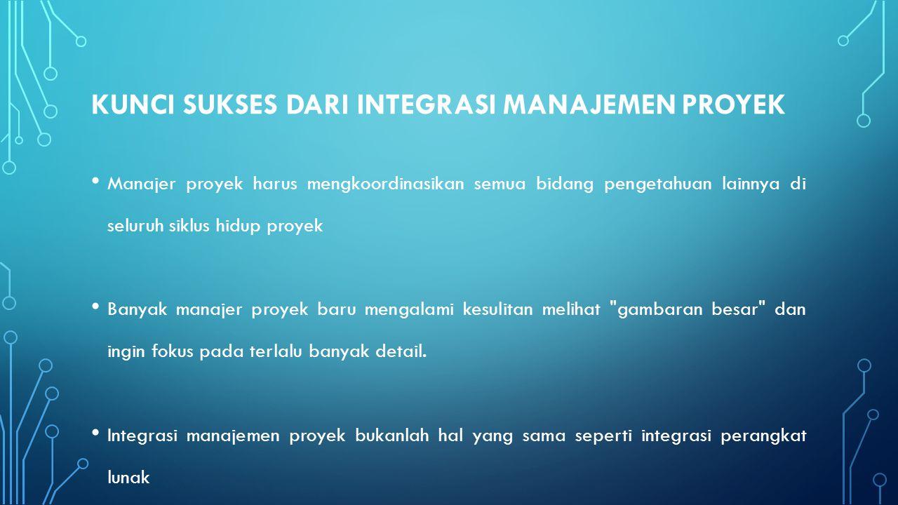 PROJECT INTEGRATION MANAGEMENT SUMMARY 4