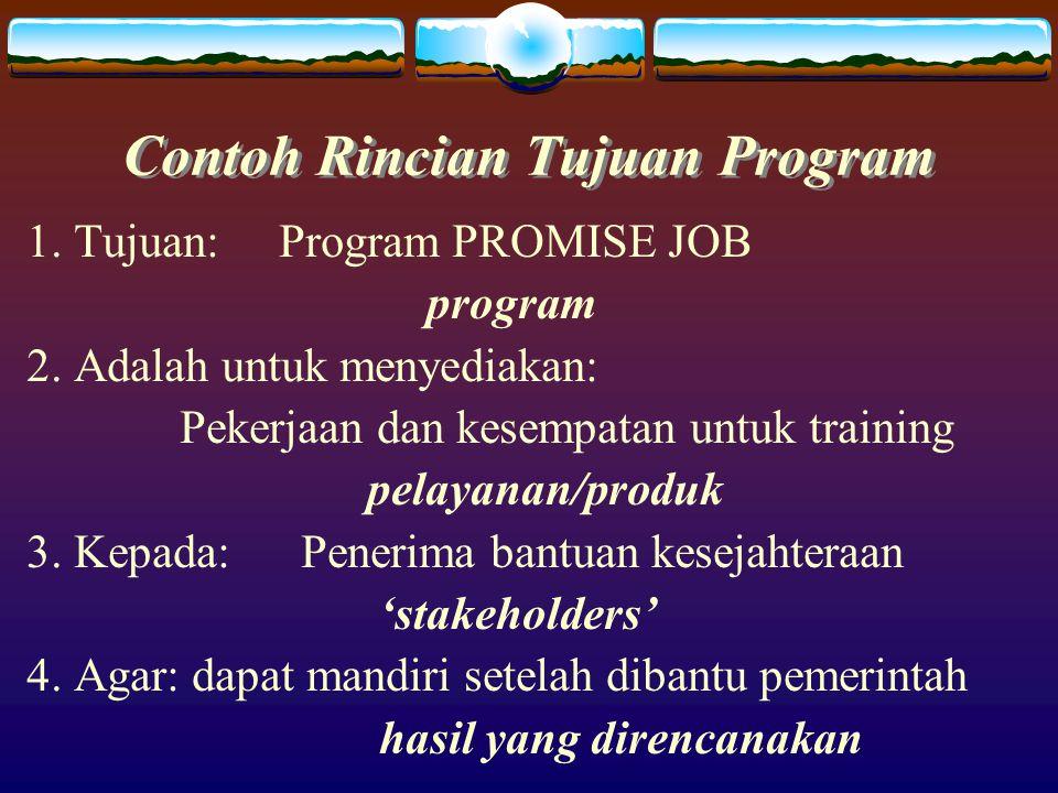 Prinsip2 Agar Ukuran Kinerja Program Bermanfaat 1.