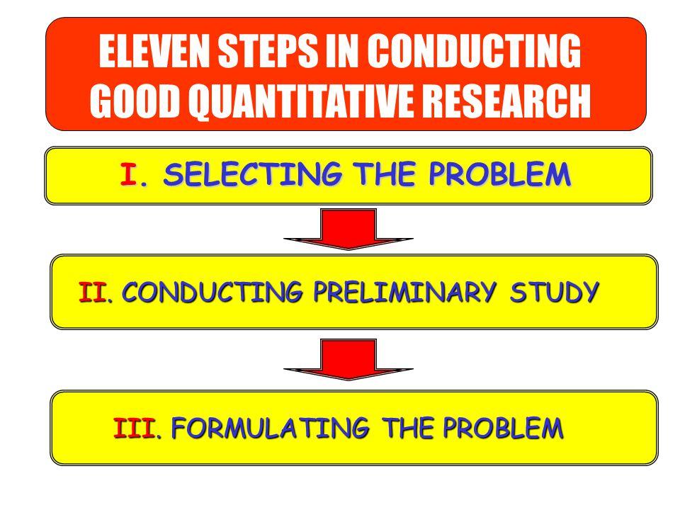 1.Memilih Masalah 2. Studi Pendahuluan 3. Merumuskan Masalah Hipotesis Menetapkan metode/ rancangan Menentukan variabelMenentukan sumber data Menentuk