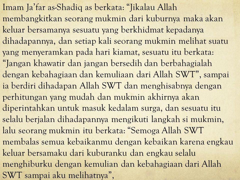 Menyenangkan hati orang-orang mukmin pada masa kegaiban membuat Imam Mahdi as sangat bahagia. Menyenangkan orang-orang mukmin adalah mungkin melalui b