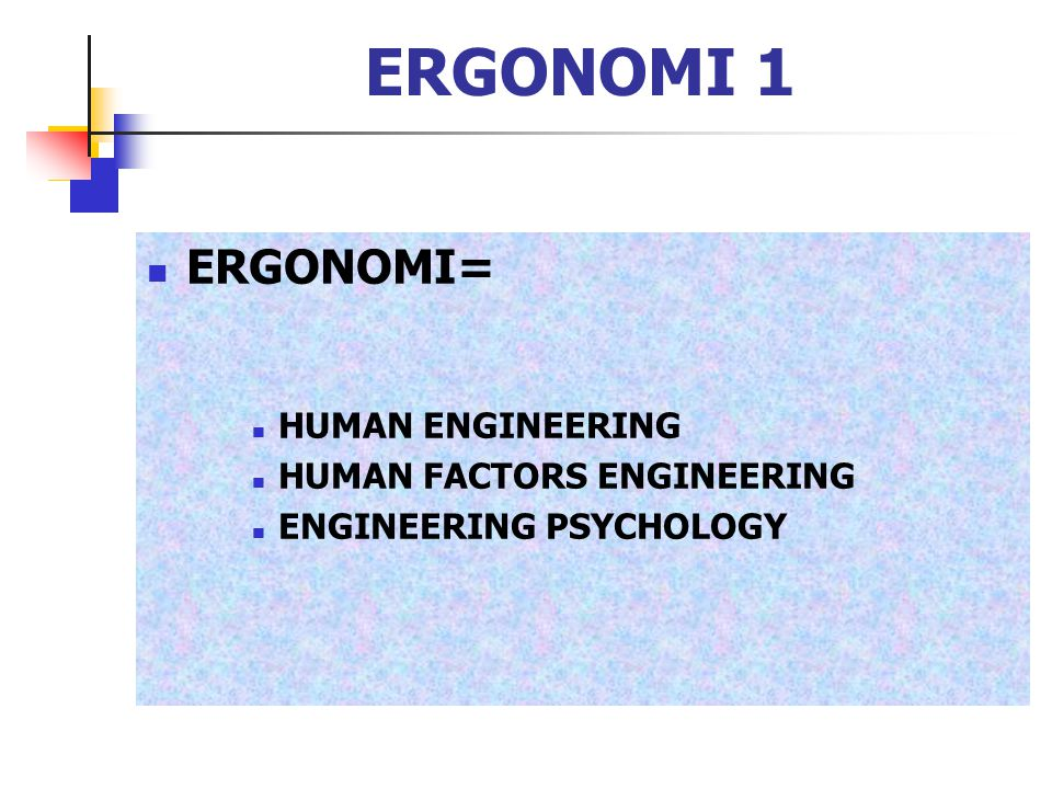 ERGONOMI 63 ANTHROPOMETRI 1 THE STUDY OF HUMAN BODY DIMENSIONS APLIKASINYA PADA : CLOTHING DESIGN WORKSPACE DESIGN ENVIRONMENT DESIGN DESIGN OF EQUIPMENT, TOOLS AND MACHINERY CONSUMER PRODUCT DESIGN