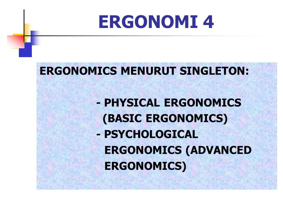 ERGONOMI 5 SEJARAH: TAYLOR DAN GARVEY, 1966, TIME AND MOTION STUDY GILBRETH, STANDARDISASI GERAK SOCIOTECHNICAL SYSTEMS