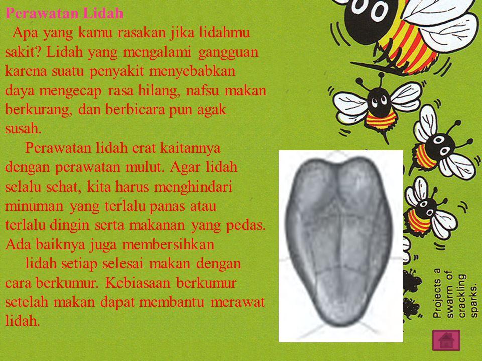 Perawatan Lidah Apa yang kamu rasakan jika lidahmu sakit.