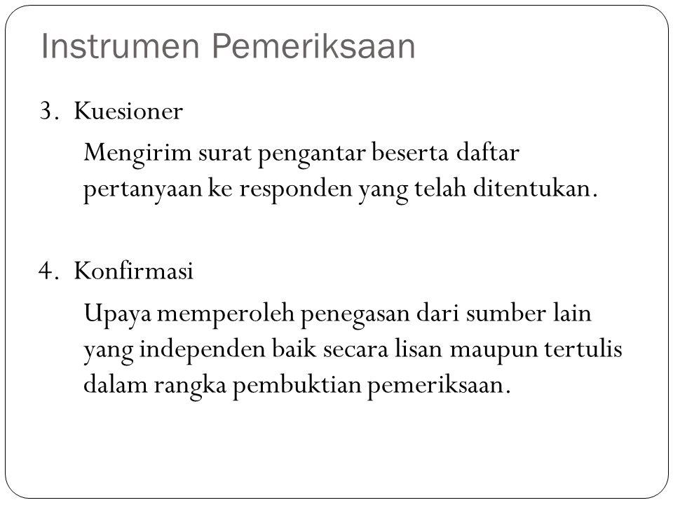 3. Kuesioner Mengirim surat pengantar beserta daftar pertanyaan ke responden yang telah ditentukan. 4. Konfirmasi Upaya memperoleh penegasan dari sumb