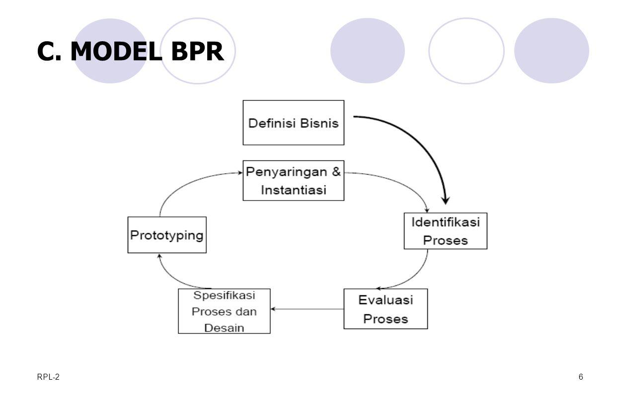 RPL-26 C. MODEL BPR