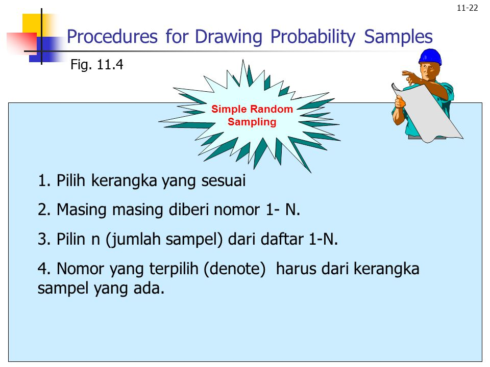 11-22 Procedures for Drawing Probability Samples Fig.