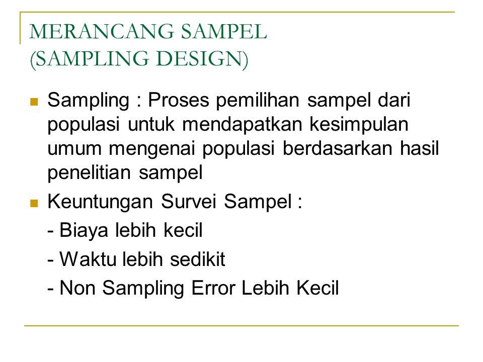 METODE SAMPLING 1.