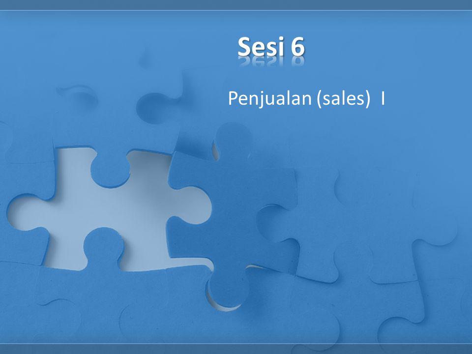 Penjualan (sales) I