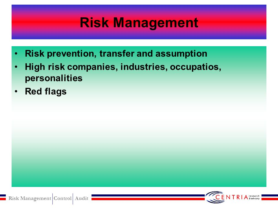 Risk Management Control Audit Investigative Compromising control and personel Motivation on fraud Detection and prevention of fraud Psycho-social char