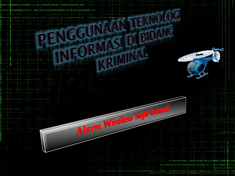  Gambaran Umum teknologi yang didunakan dalam Bidang Kriminalitas  Teknologi yang di Gunakan Zaman Dahulu  Teknologi yang digunakan Saat Ini  Perbandingan Teknologi Saat Ini dengan Zaman Dahulu  Kelebihan dan Kelemahan Teknologi yang digunakan Saat Ini  Dampak dari teknologi yang digunakan