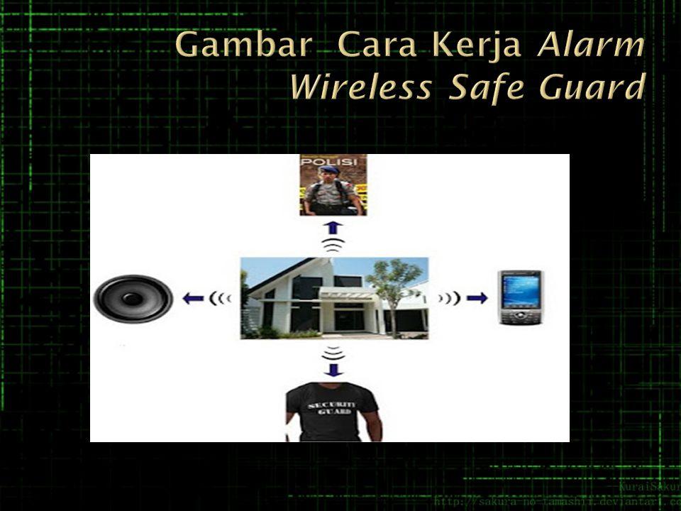  Pada saat pencuri terdeteksi, WirelessAlarm Alert System secara otomatis akan mengirim pesan pemberitahuan kepada tiga nomor telephone yang telah terprogram sebelumnya.Sehingga member kemudahan dalam memantau komdisi keamanan rumah atau tempat yang terpasang alarm.