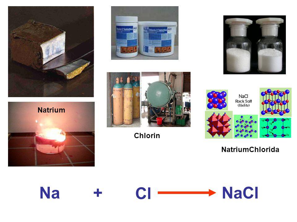 Natrium Chlorin NatriumChlorida Na Cl NaCl+