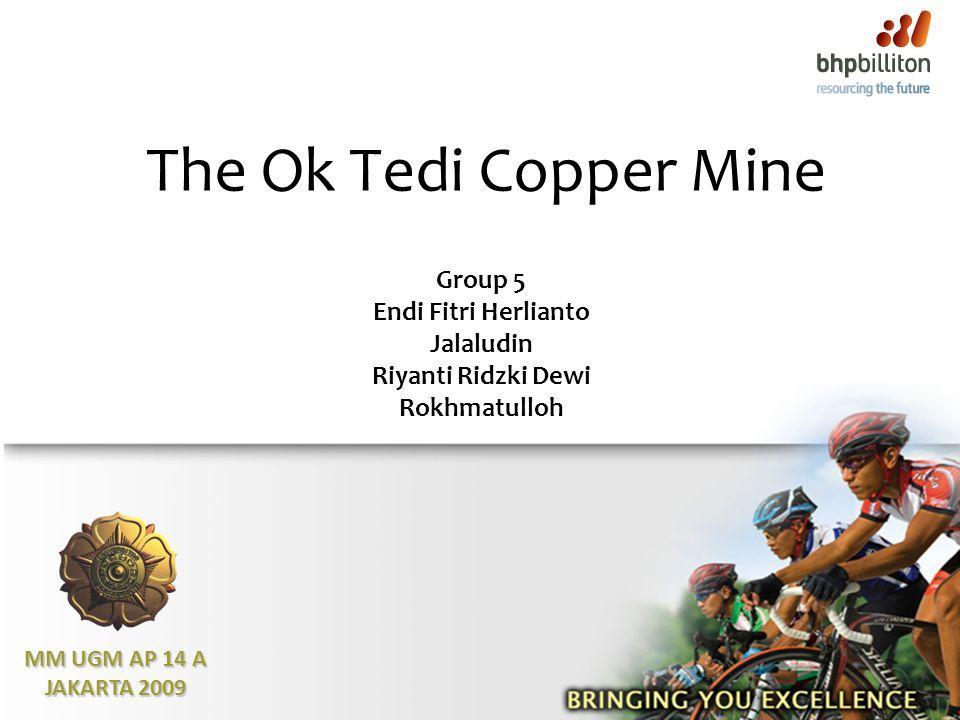 The Ok Tedi Copper Mine MM UGM AP 14 A JAKARTA 2009 Group 5 Endi Fitri Herlianto Jalaludin Riyanti Ridzki Dewi Rokhmatulloh