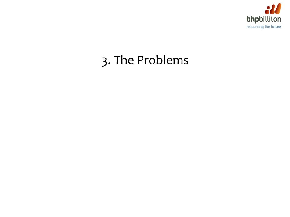 3. The Problems