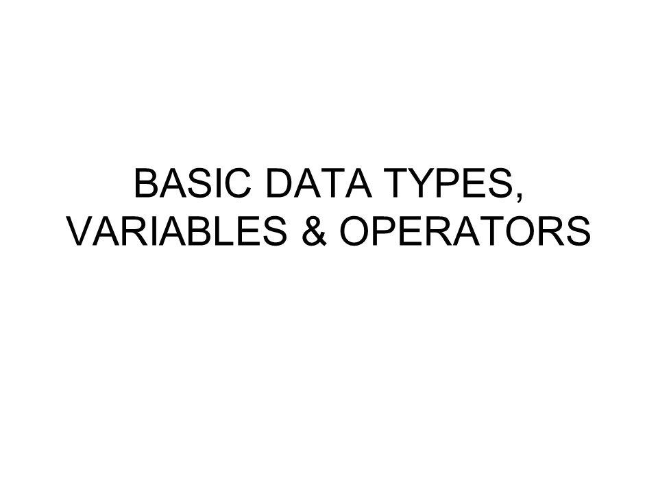 Inisialisasi variabel Suatu variable bisa diinisialisasi secara langsung pada saat dideklarasikan, contoh: int a = 1000; char x = 'x'; float nilai = 123.10; char hello[12] = hello world ;