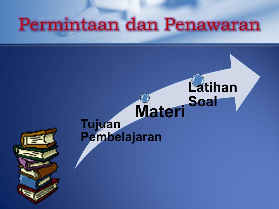 Tujuan Pembelajaran Materi Latihan Soal
