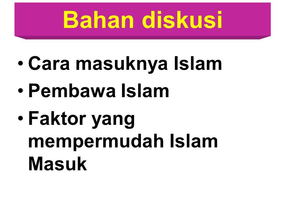 MENGAPA MUDAH DITERIMA  Situasi sosial politik Indonesia waktu itu  Pacific penetration.>.>.>.>.>  Mubaligh selaraskan diri pd lingkungan  Setiap