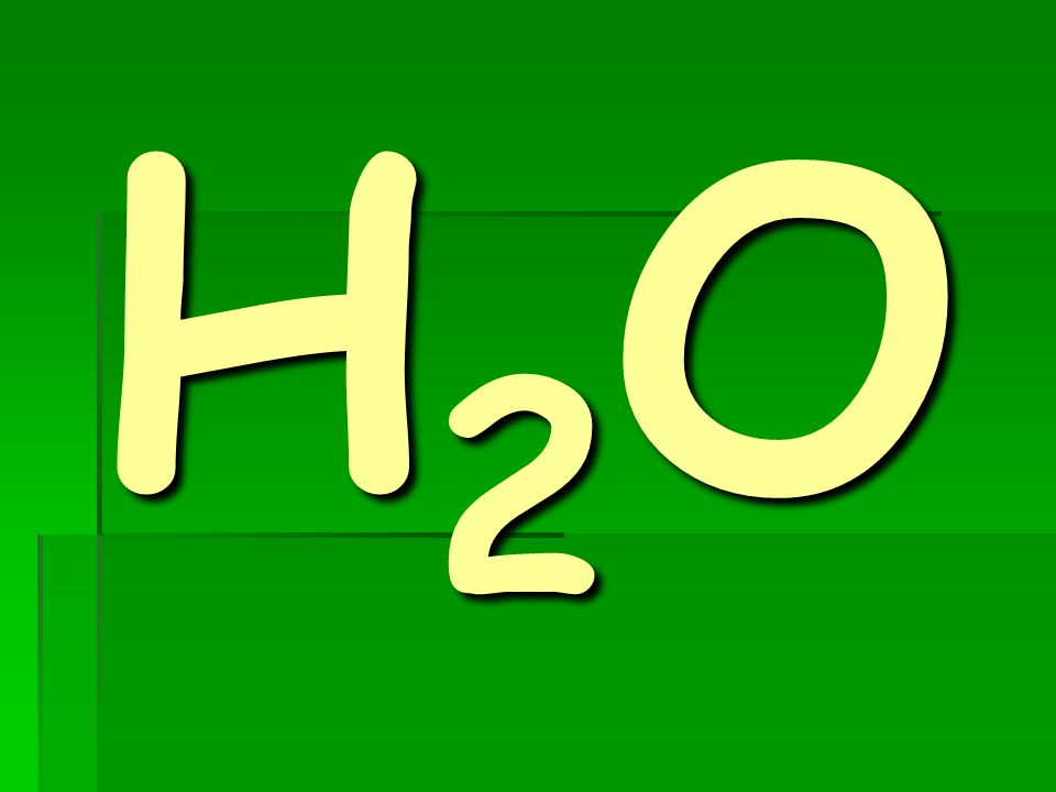 H2OH2OH2OH2O