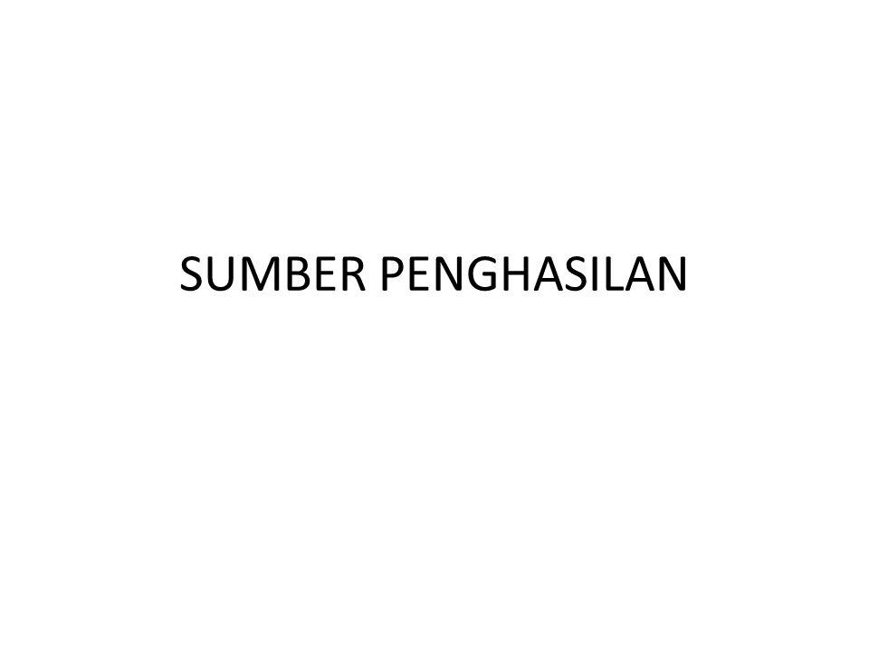 Dua masalah penting yg sangat tergantung pada Ketentuan Tentang Sumber Penghasilan/KTSP/source rules : 1.Pemajakan WPLN yg pada umumnya terutang atas penghasilan yg bersumber di Indonesia.