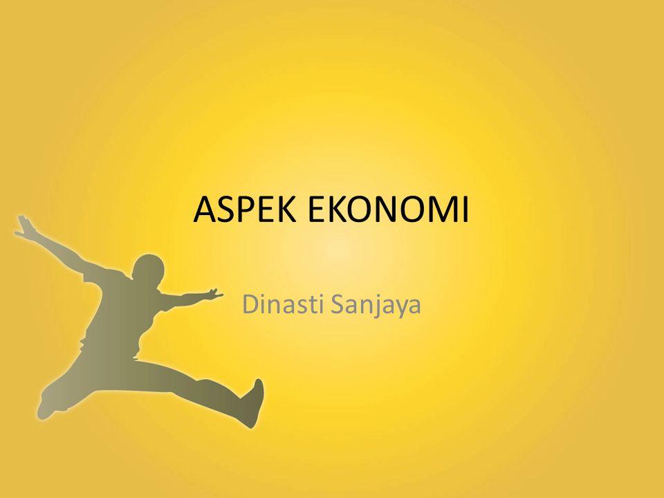 ASPEK EKONOMI Dinasti Sanjaya