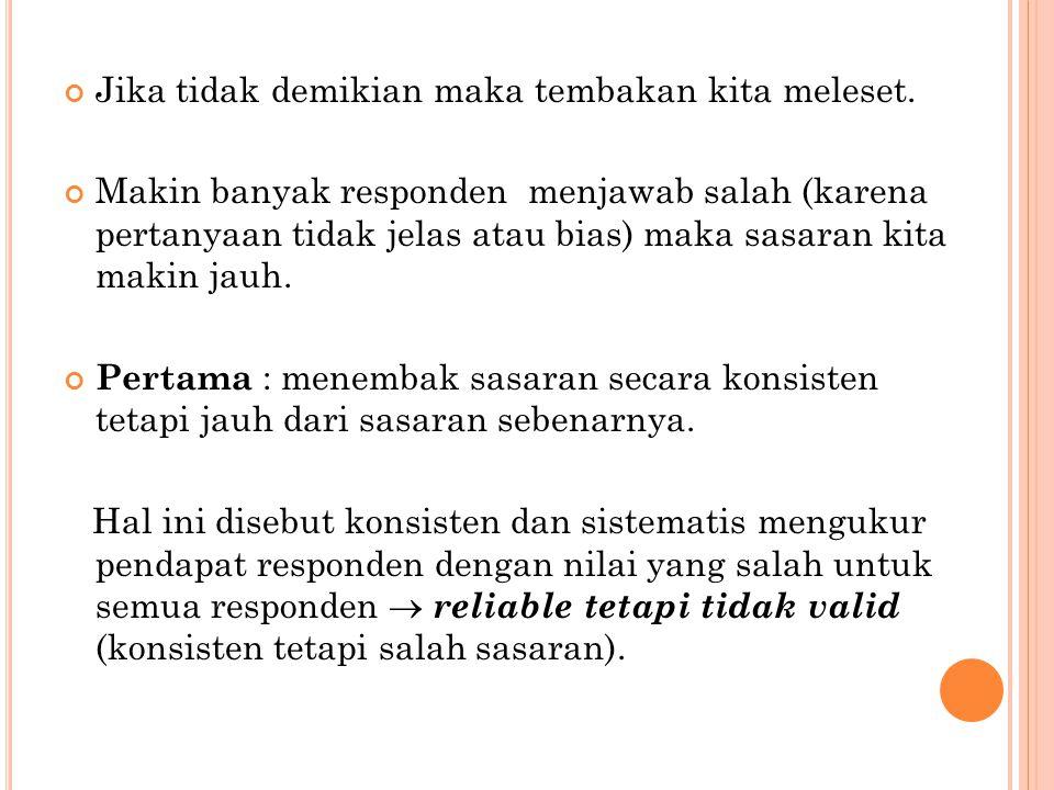 C ONTOH KASUS : P ADA KASUS KUESIONER 10 ITEM DENGAN 12 RESPONDEN Karena item 1, item 5, item 9 dan item 10 tidak valid maka dibuang (dengan tanpa mengurangi kesatuan arti kuesioner).
