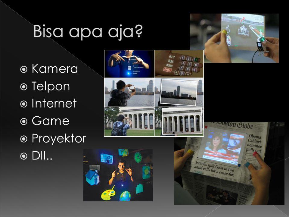  Kamera  Telpon  Internet  Game  Proyektor  Dll..