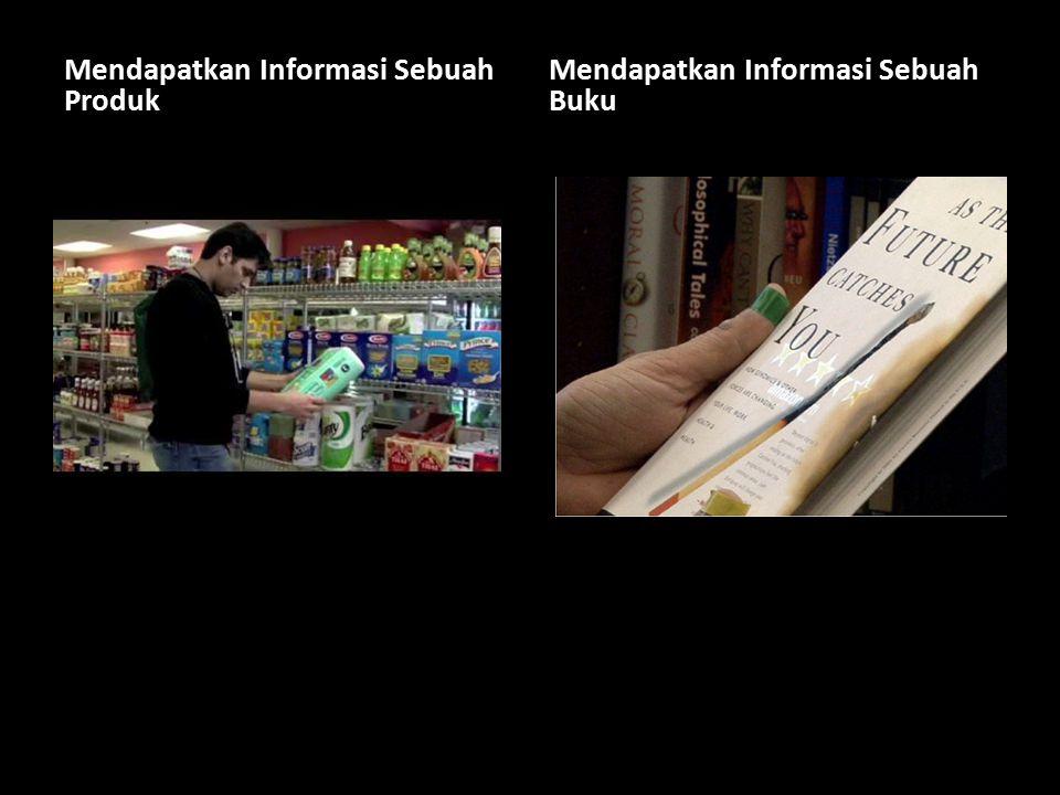 Mendapatkan Informasi Sebuah Produk Mendapatkan Informasi Sebuah Buku
