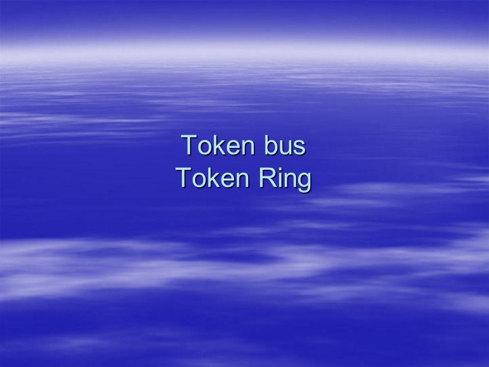 Token bus Token Ring