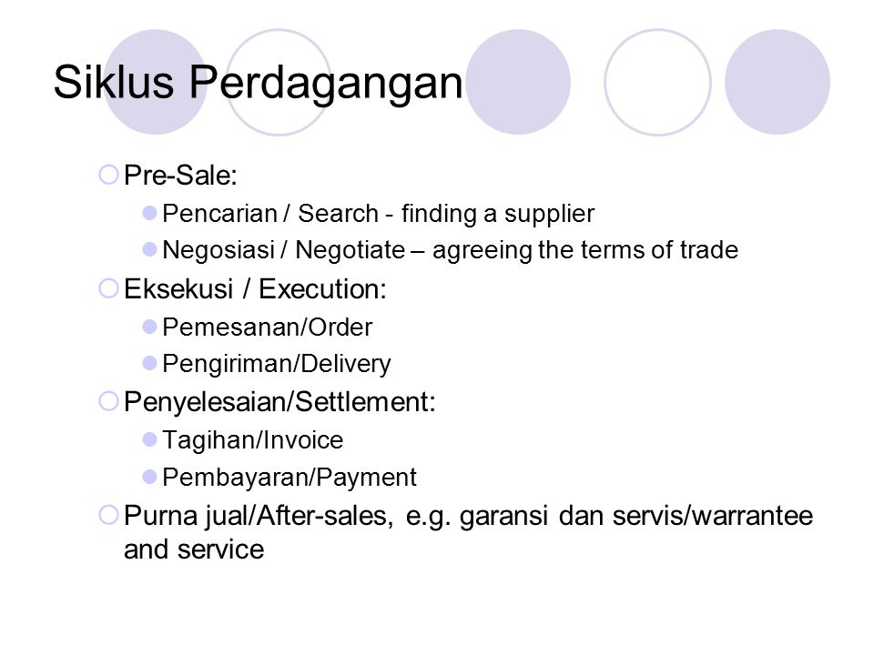 Sub-sistem dalam e-Commerce 1.Inventory Management System 2.