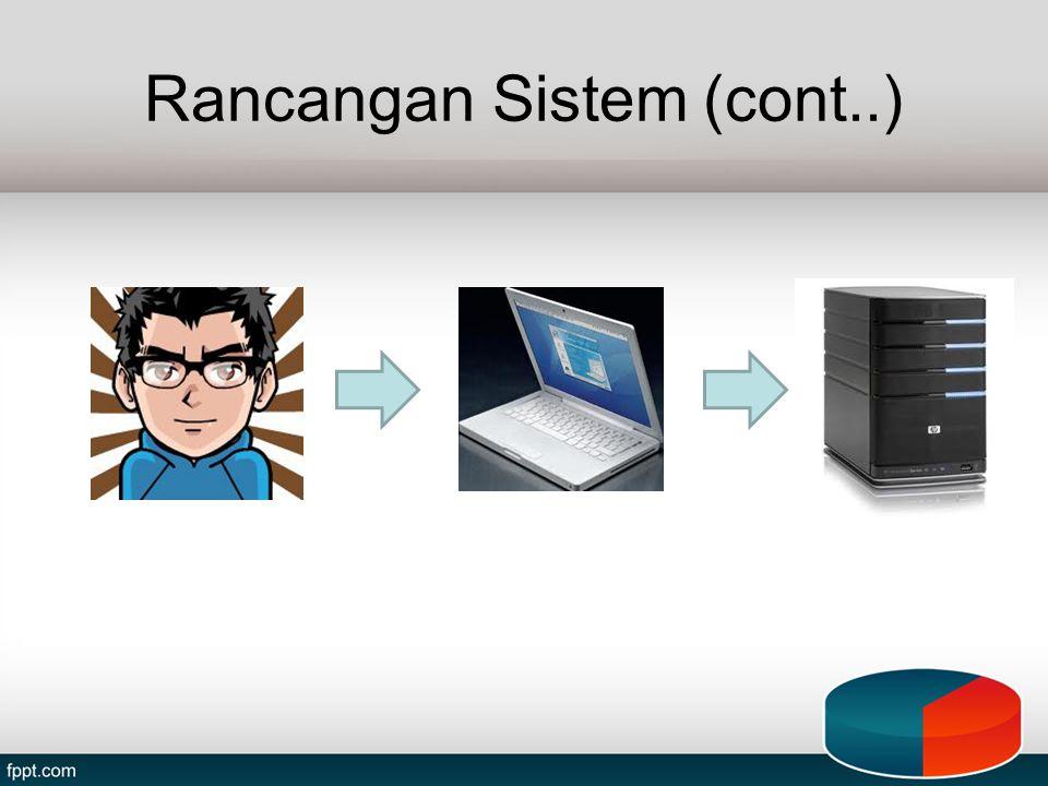 Rancangan Sistem (cont..)