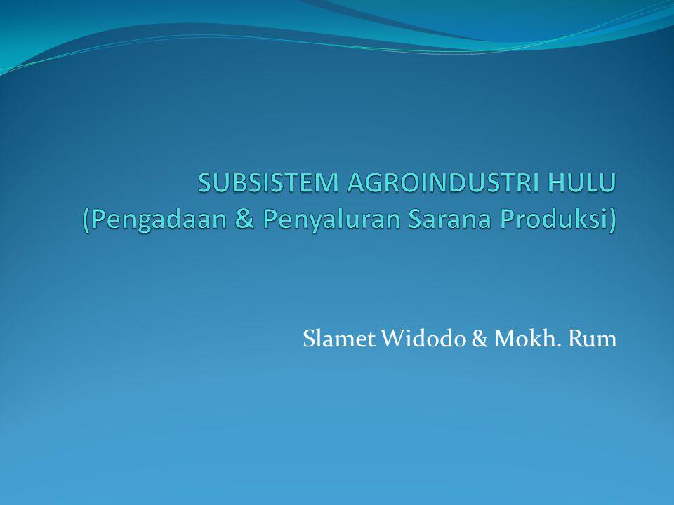Slamet Widodo & Mokh. Rum