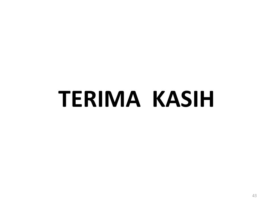 TERIMA KASIH 43
