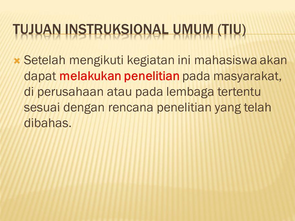  Mahasiswa KPM-IPB  Telah lulus Studi Pustaka (KPM 403)  Dinyatakan oleh Koordinator Skripsi telah siap untuk menyusun skripsi di bawah bimbingan dosen (-dosen) pembimbing tertentu.