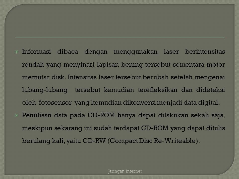  DVD adalah generasi lanjutan dari teknologi penyimpanan dengan menggunakan media optical disc.