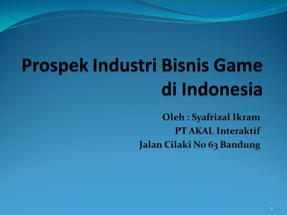 Sekilas Industri Kreatif Indonesia Industri Kreatif : Industri yang berasal dari pemanfaatan kreativitas, keterampilan serta bakat individu untuk menciptakan kesejahteraan serta lapangan pekerjaan melalui penciptaaan dan pemanfaatan daya kreasi dan daya cipta individu : (Departemen Perdagangan RI 2007) 2