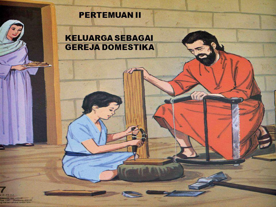 PERTEMUAN II KELUARGA SEBAGAI GEREJA DOMESTIKA