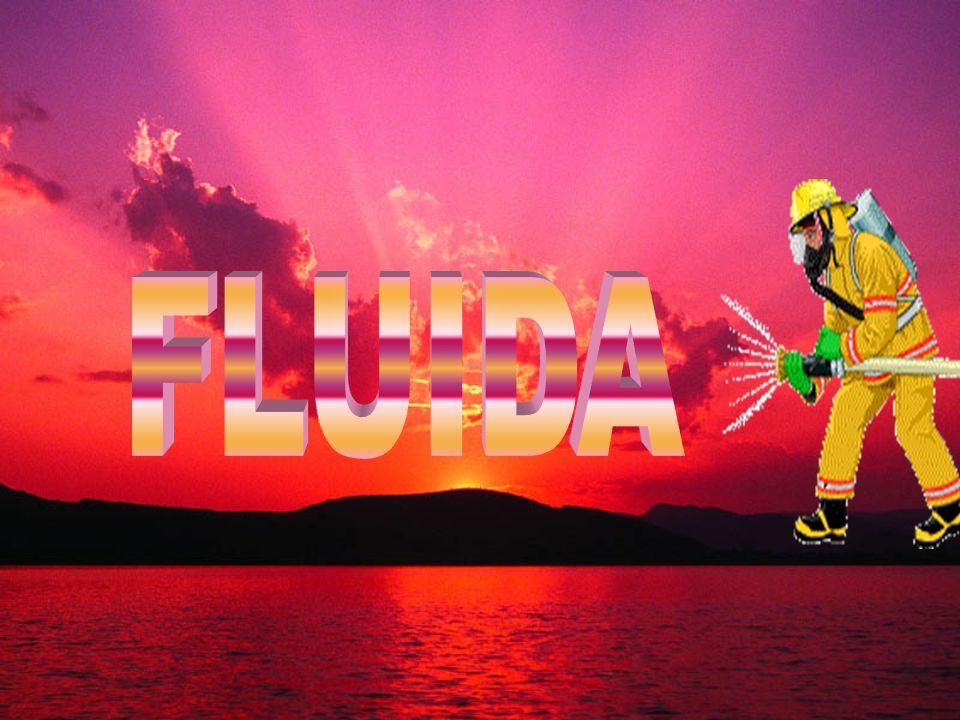 FLUIDA = zat alir Zat cair GAS - Molekul terikat secara longgar tapi berdekatan -Tekanan yang terjadi karena gaya grafitasi -Tekanan terjadi tegak lurus bidang -Molekul bergerak bebas dan saling bertumbukan -Tekanan akibat tumbukan antar molekul -Tekanan terjadi tidak tegak lurus bidang