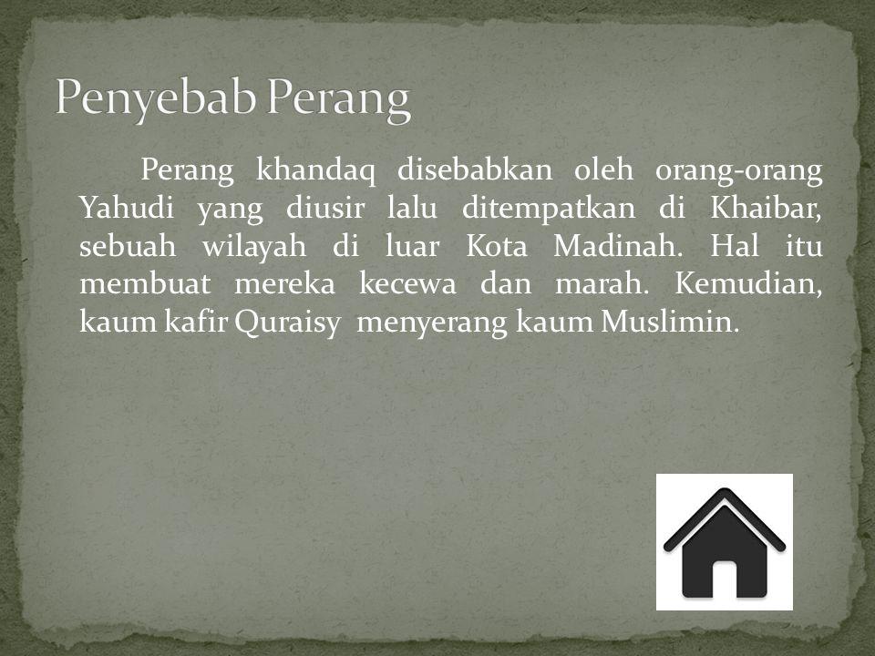  Kaum kafir Quraisy Pihak kaum kafir terdiri dari Arab Pagan Quraiysh dari Mekkah, Suku Arab Yahudi Bani Qaynuqa, dan Bani Nadir.