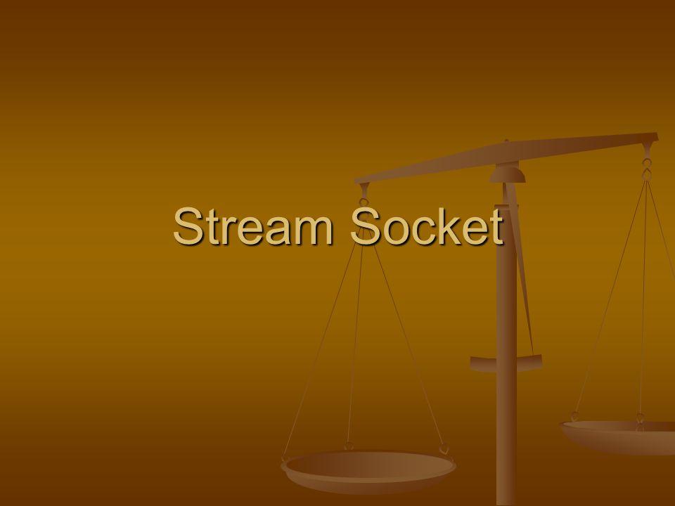 Stream Socket