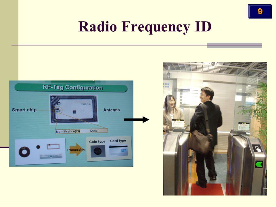 Radio Frequency ID 9