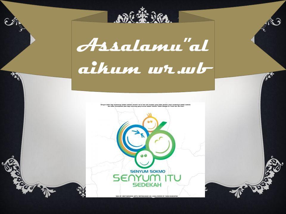 Assalamu al aikum wr.wb