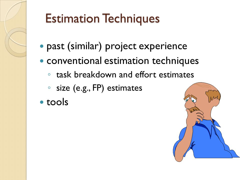 Computing Expected Cost (path probability) x (estimated path cost) (path probability) x (estimated path cost) i i For example, the expected cost to build is: expected cost = 0.30($380K)+0.70($450K) similarly, expected cost = $382K expected cost = $267K expected cost = $410K build reuse buy contr expected cost = = $429 K