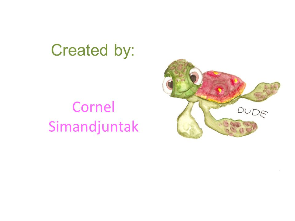 Created by: Cornel Simandjuntak