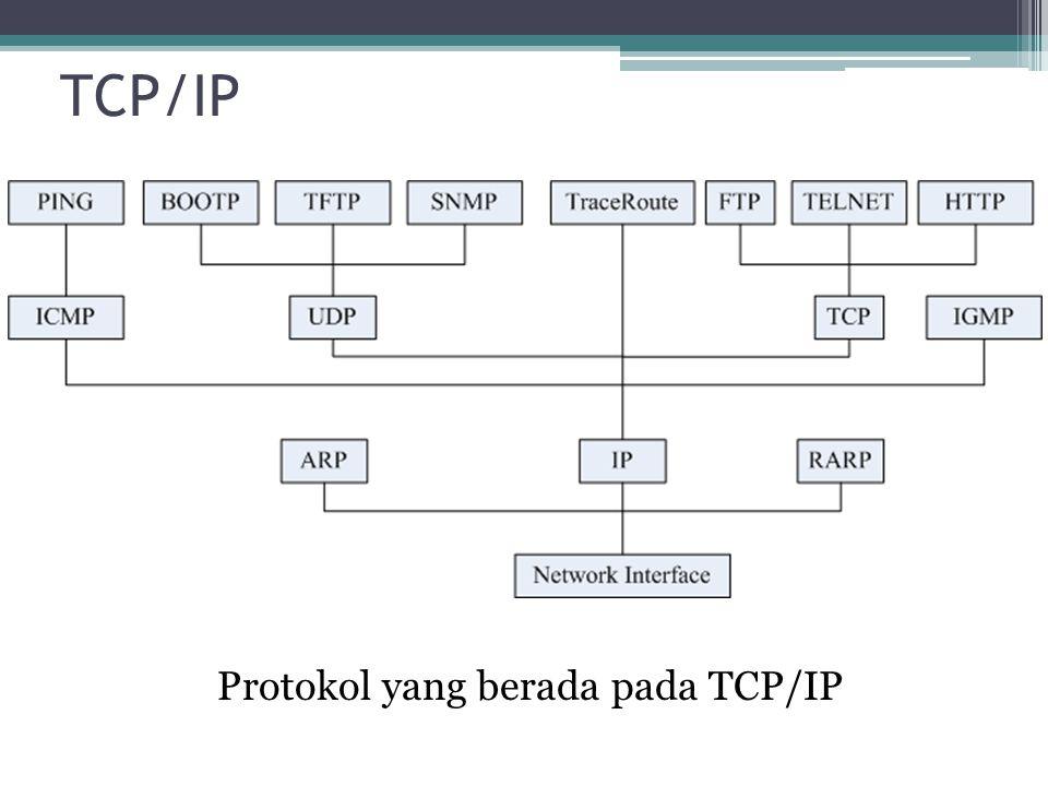 TCP/IP Dalam Layer