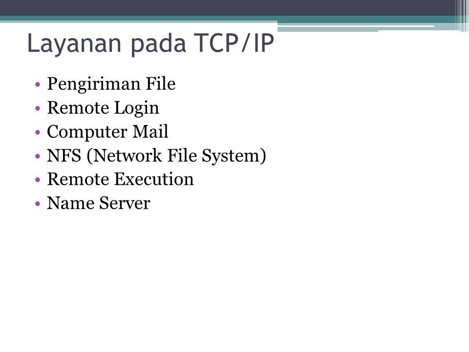 multicast address, yakni sejumlah komputer yang memakai bersama suatu aplikasi (bedakan dengan pengertian network address yang mengacu kepada sejumlah komputer yang memakai bersama suatu network).