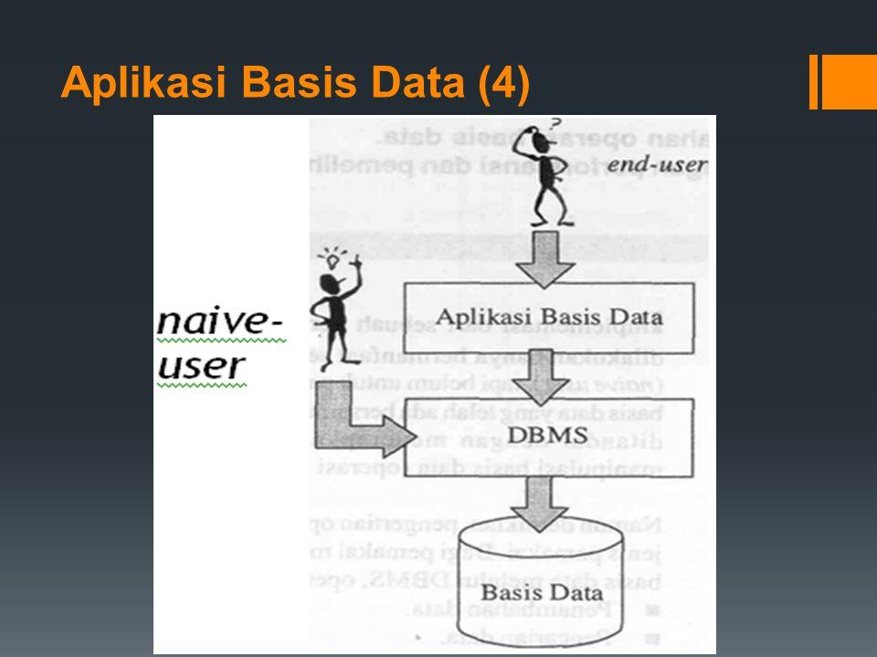 Sistem Tersentralisasi (Centralized System)-5  Pada bentuk sentralisasi yang kedua, beban server jauh lebih ringan, karena yang hidup di situ hanyalah sistem operasi jaringan (network operating system/NOS) dan basis data dianggap setara dengan sebuah file atau beberapa file pada umumnya.