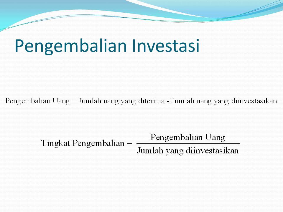 Pengembalian Investasi