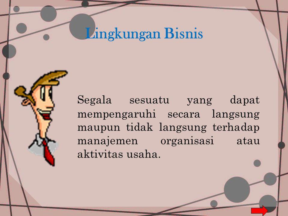 LINGKUNGAN BISNIS